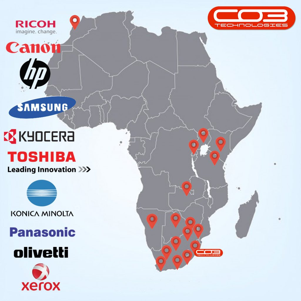 CO3 Technologies supports customers across the continent.